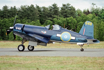 G-BXUL - Private Goodyear FG Corsair (all models)