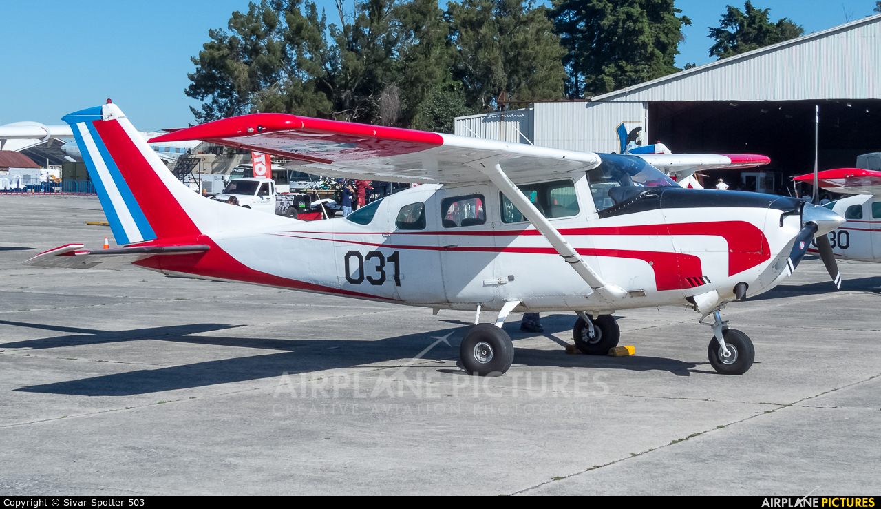 Guatemala - Air Force 031 aircraft at Guatemala - La Aurora