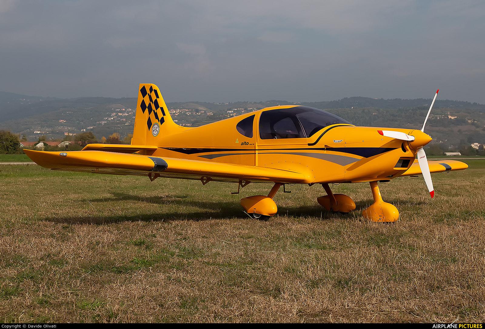 Private I-D483 aircraft at Verona - Boscomantico