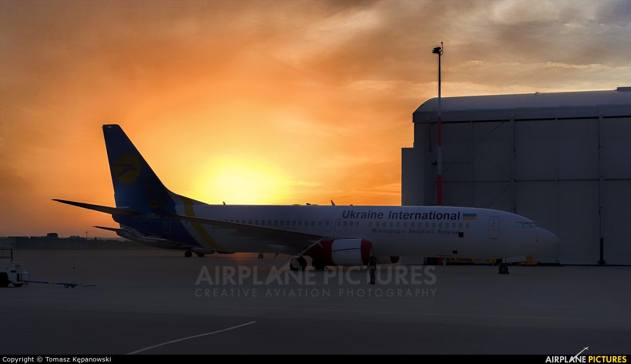 Ukraine International Airlines OE-INY aircraft at Rzeszów-Jasionka