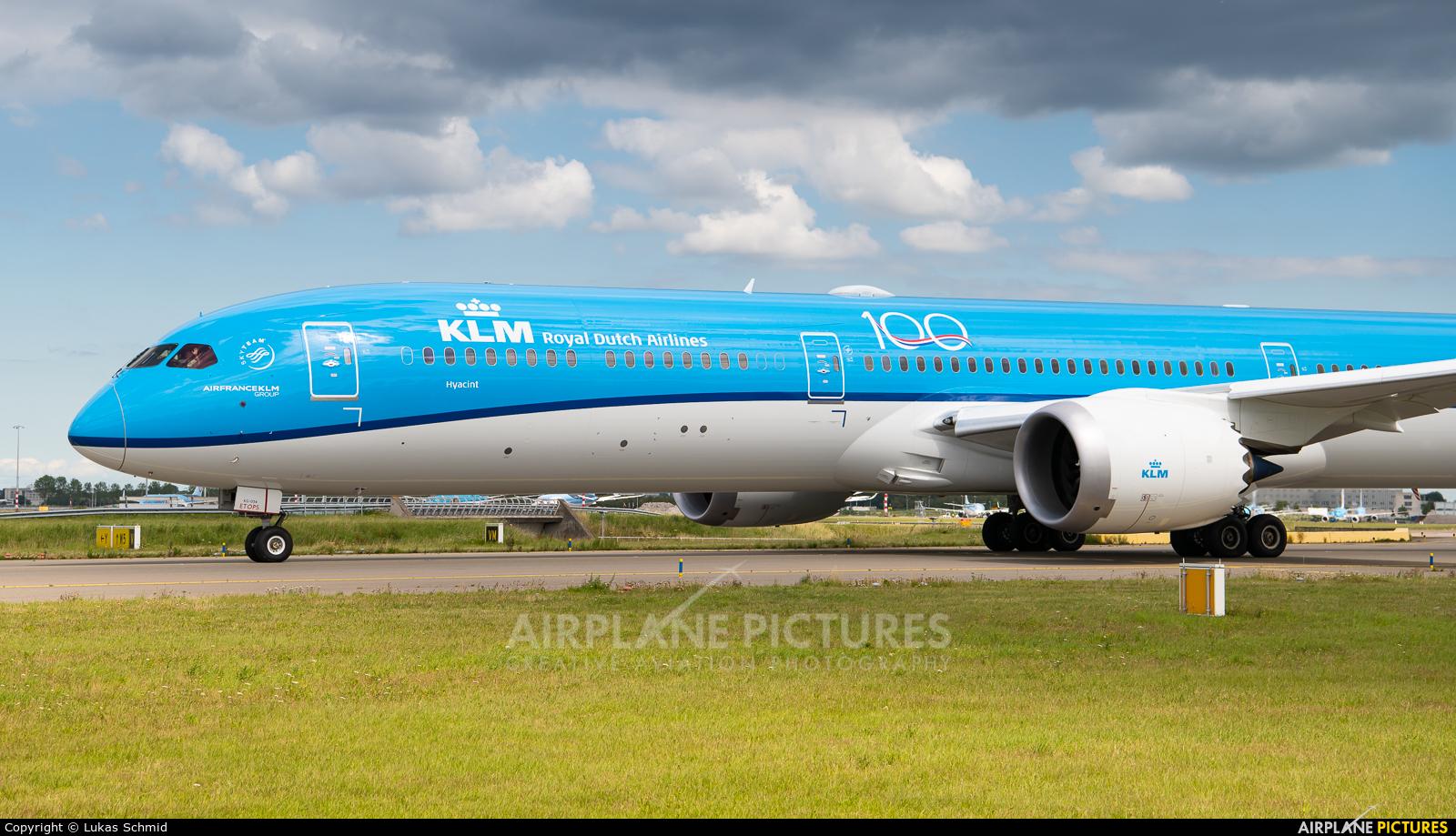 KLM PH-BKG aircraft at Amsterdam - Schiphol