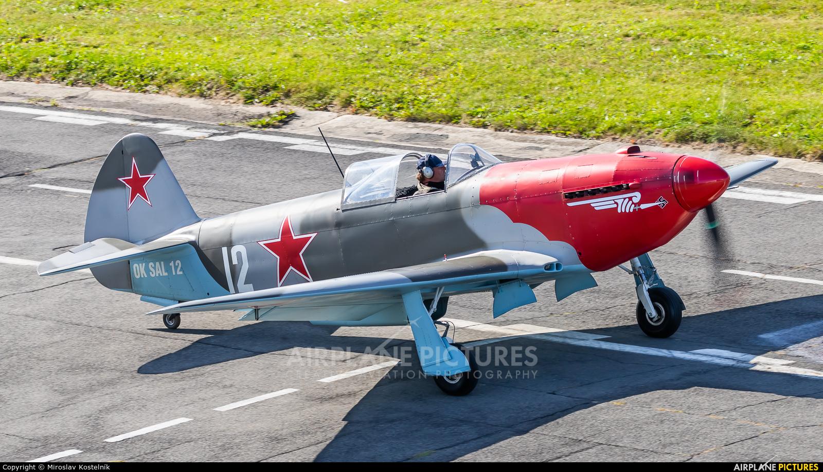 Private OK-SAL12 aircraft at Ostrava Mošnov