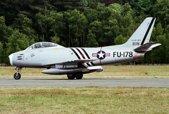 Golden Apple Operations - North American F-86 Sabre G-SABR