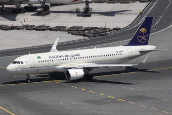 HZ-AS76 - Saudi Arabian Airlines Airbus A320