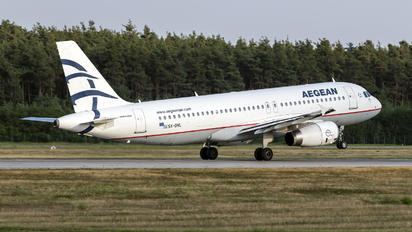 SX-DVL - Aegean Airlines Airbus A320