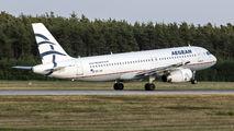SX-DVL - Aegean Airlines Airbus A320 aircraft