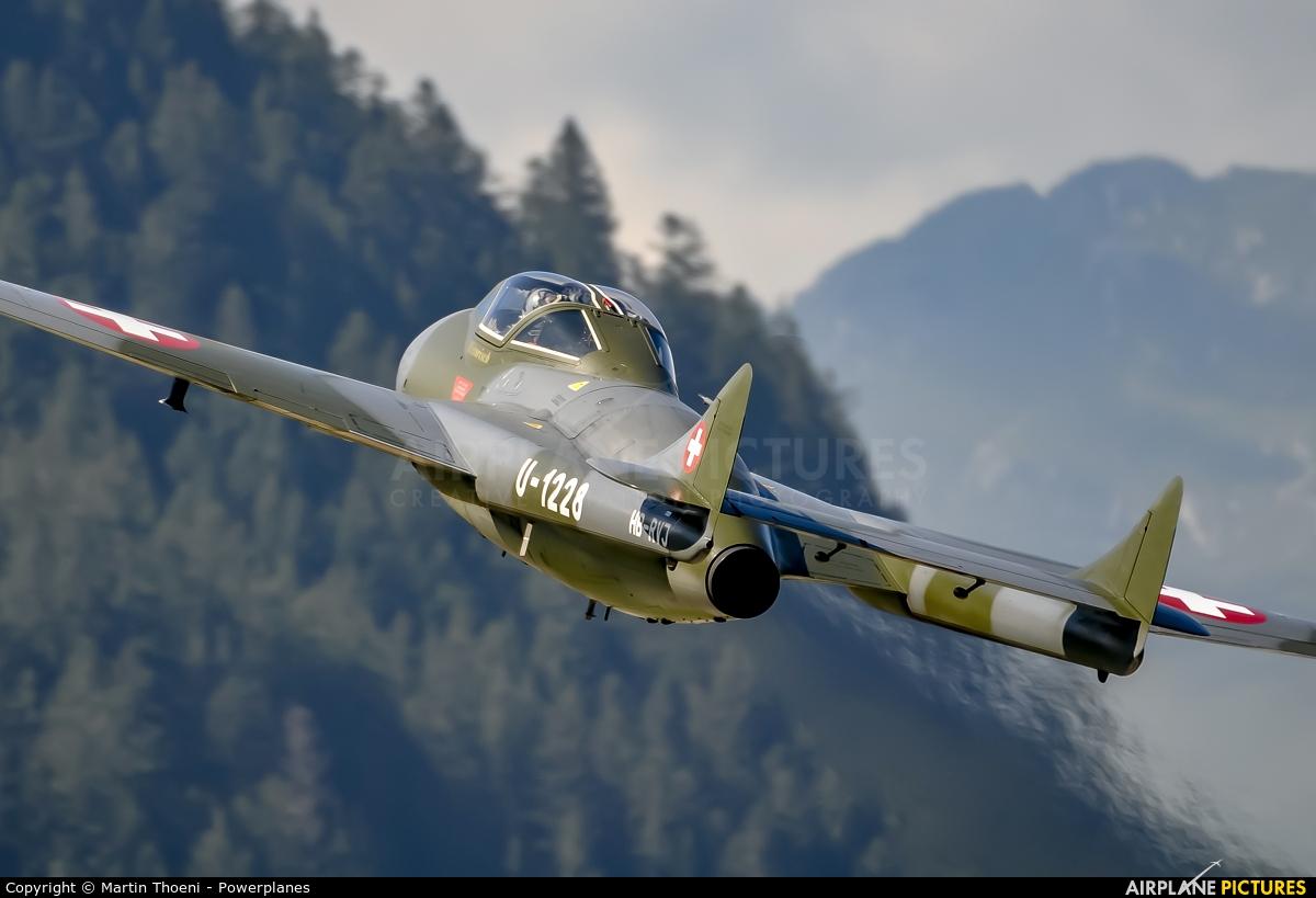 FFA Museum HB-RVJ aircraft at St. Stephan