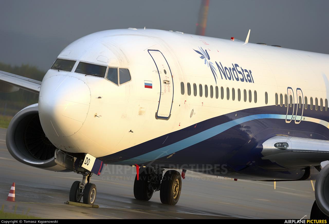 NordStar Airlines VQ-BDO aircraft at Rzeszów-Jasionka