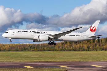 JA864J - JAL - Japan Airlines Boeing 787-9 Dreamliner