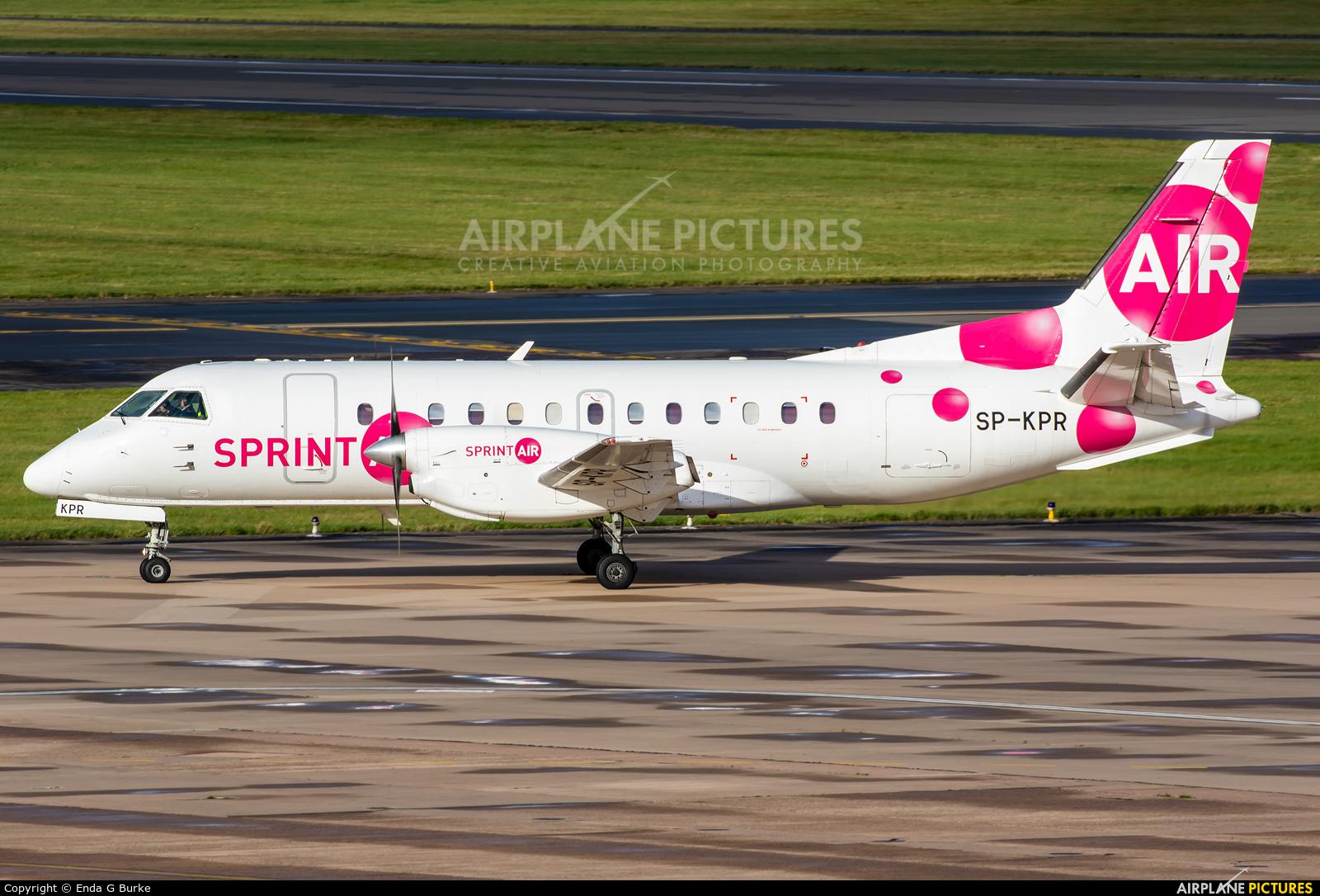 Sprint Air SP-KPR aircraft at Birmingham