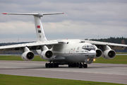 Egyptian Air Force received its first modified Il-76MF title=