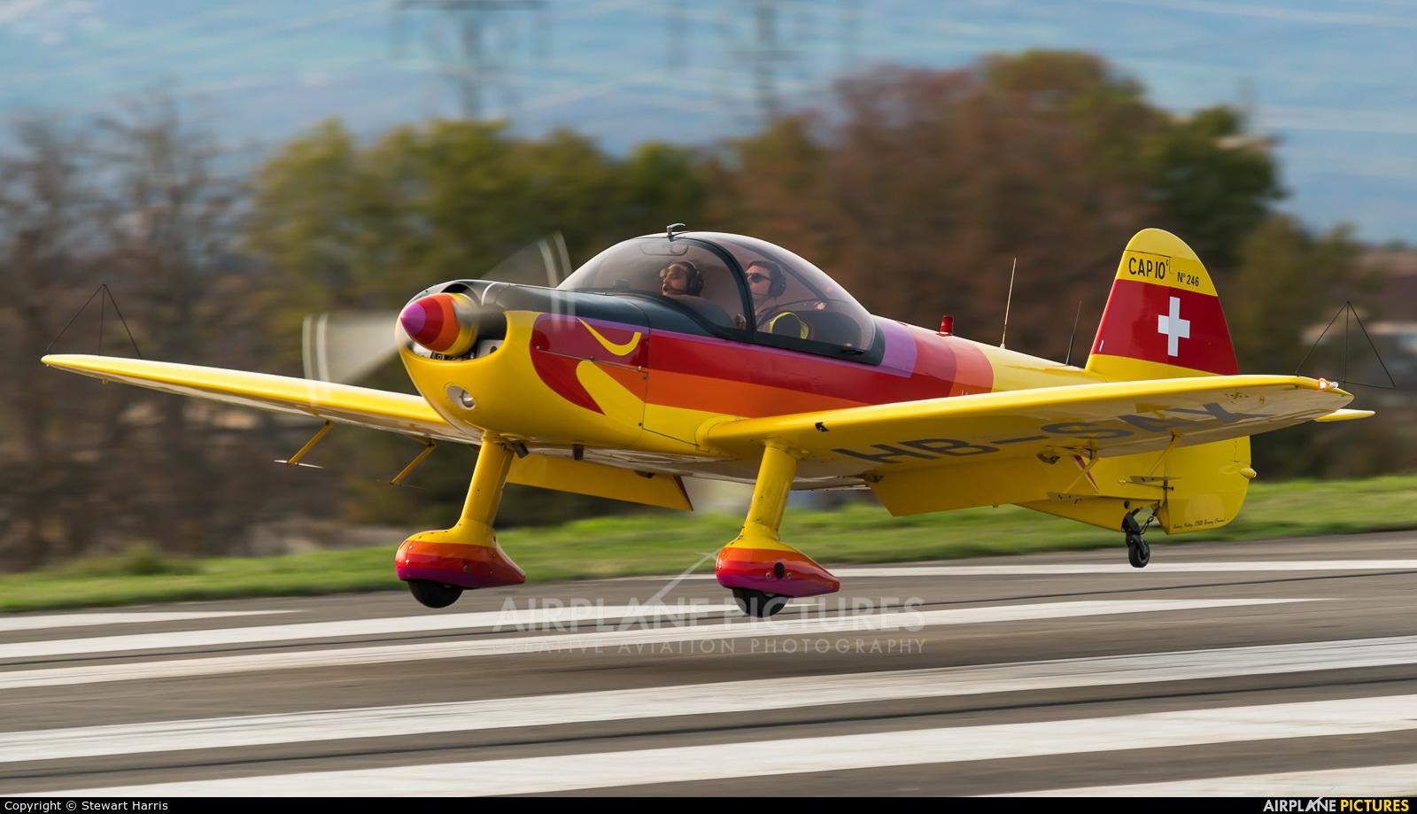 Groupement de Vol à Moteur - Lausanne HB-SAX aircraft at Lausanne - La Blécherette