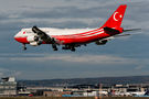 Turkish Government Boeing 747-8 arrived to Frankfurt for maintenance