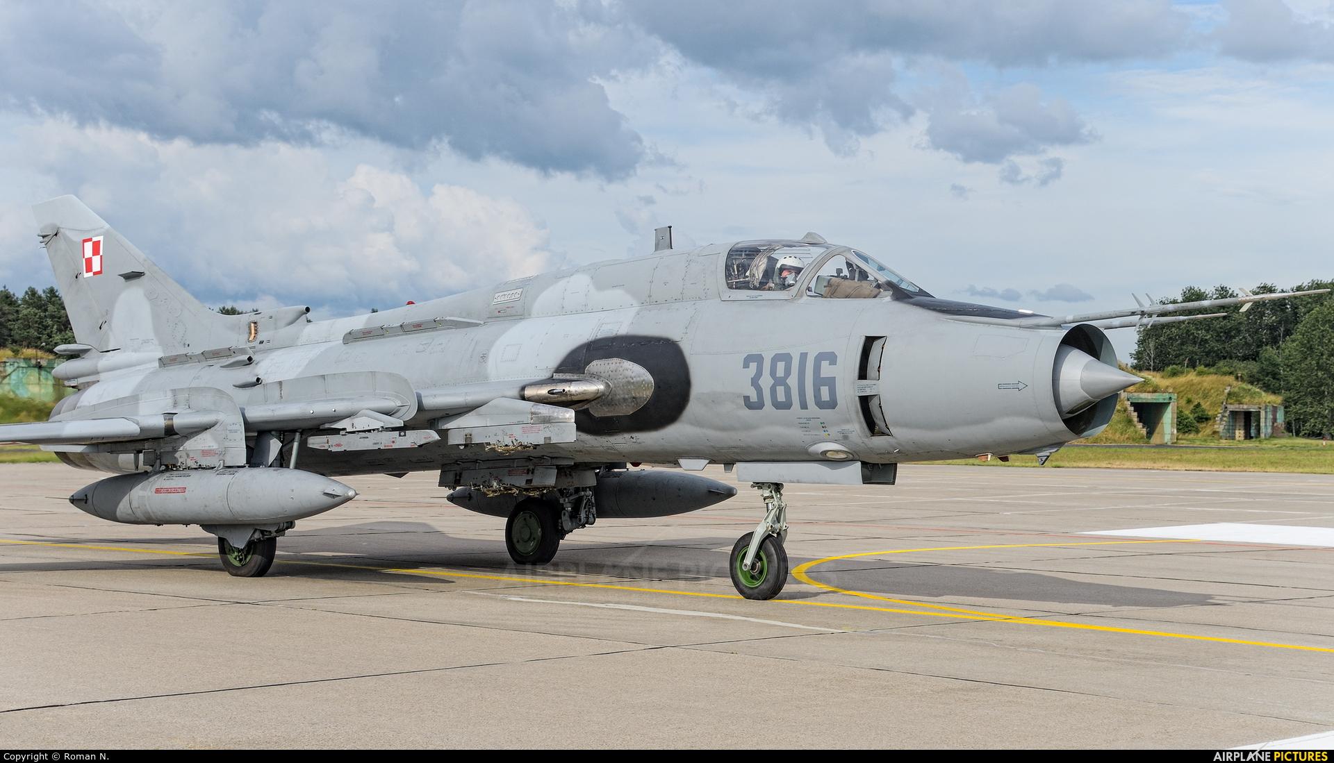 Poland - Air Force 3816 aircraft at Świdwin