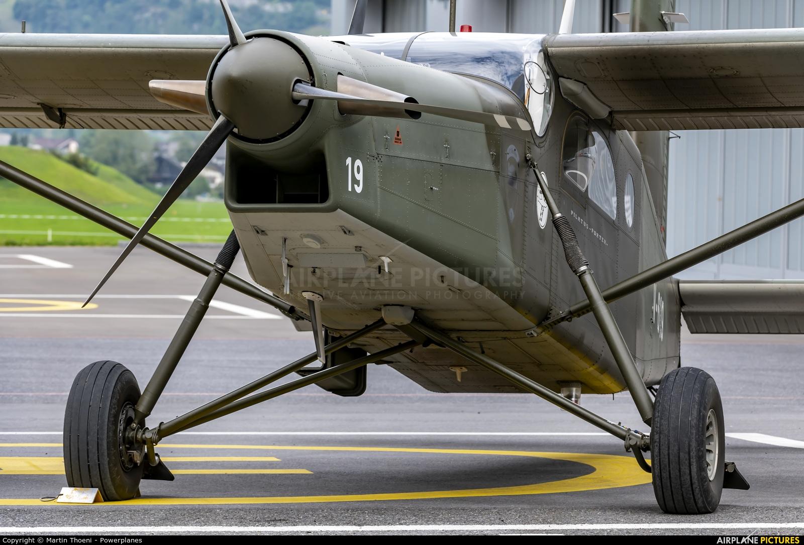 Switzerland - Air Force V-619 aircraft at Mollis