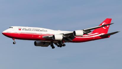 TC-TRK - Turkey - Government Boeing 747-8