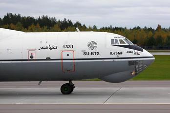 SU-BTX - Egypt - Air Force Ilyushin IL-76MF