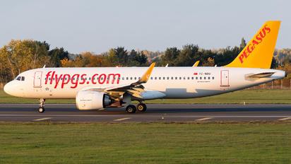 TC-NBU - Pegasus Airbus A320 NEO