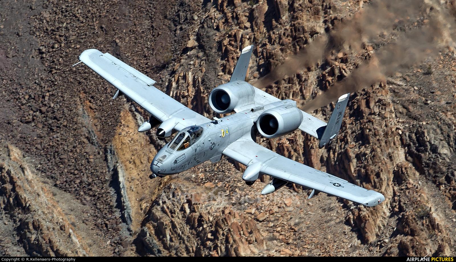 USA - Air Force 79-0202 aircraft at Rainbow Canyon - Off Airport
