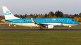 KLM opened a route from Amsterdam to Poznań