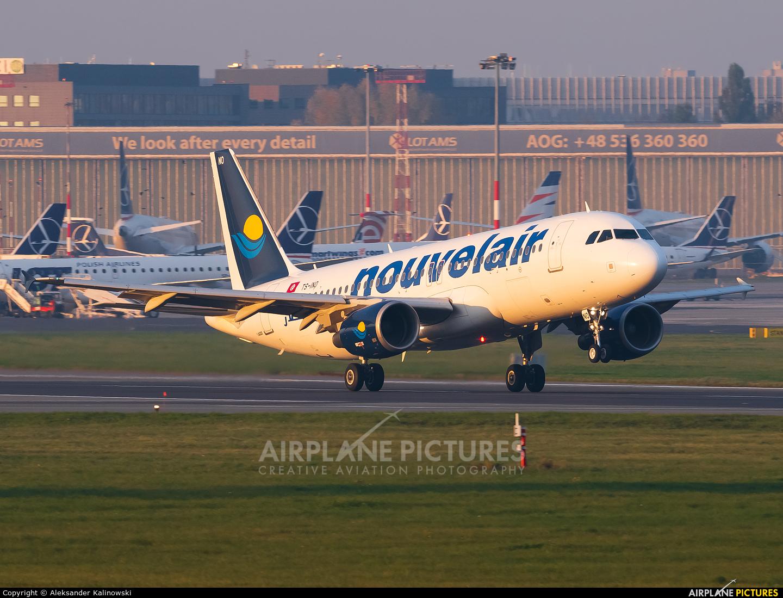 Nouvelair TS-INO aircraft at Warsaw - Frederic Chopin