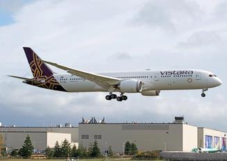 VT-TSN - Vistara Boeing 787-9 Dreamliner