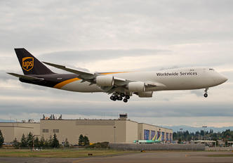 N623UP - UPS - United Parcel Service Boeing 747-8F