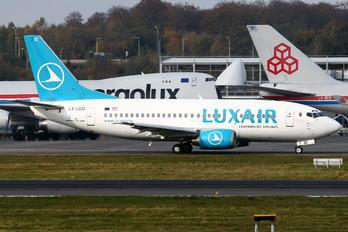 LX-LGO - Luxair Boeing 737-500