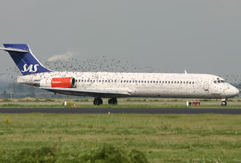 OY-KHF - SAS - Scandinavian Airlines McDonnell Douglas MD-87