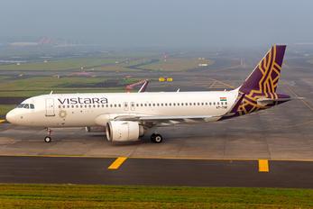 VT-TNK - Vistara Airbus A320 NEO