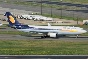 VT-JWJ - Jet Airways Airbus A330-200