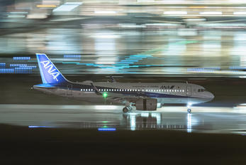 JA219A - ANA - All Nippon Airways Airbus A320 NEO