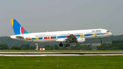 G-OOAJ - Air 2000 Airbus A321
