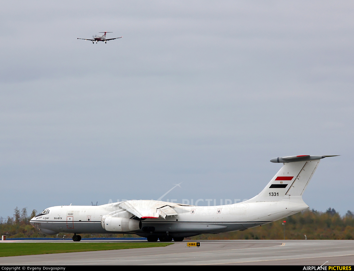 BySky EW-501LL aircraft at Minsk Intl