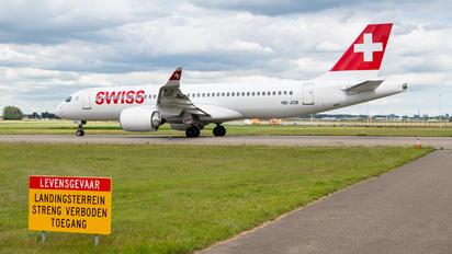 HB-JCB - Swiss Airbus A220-300