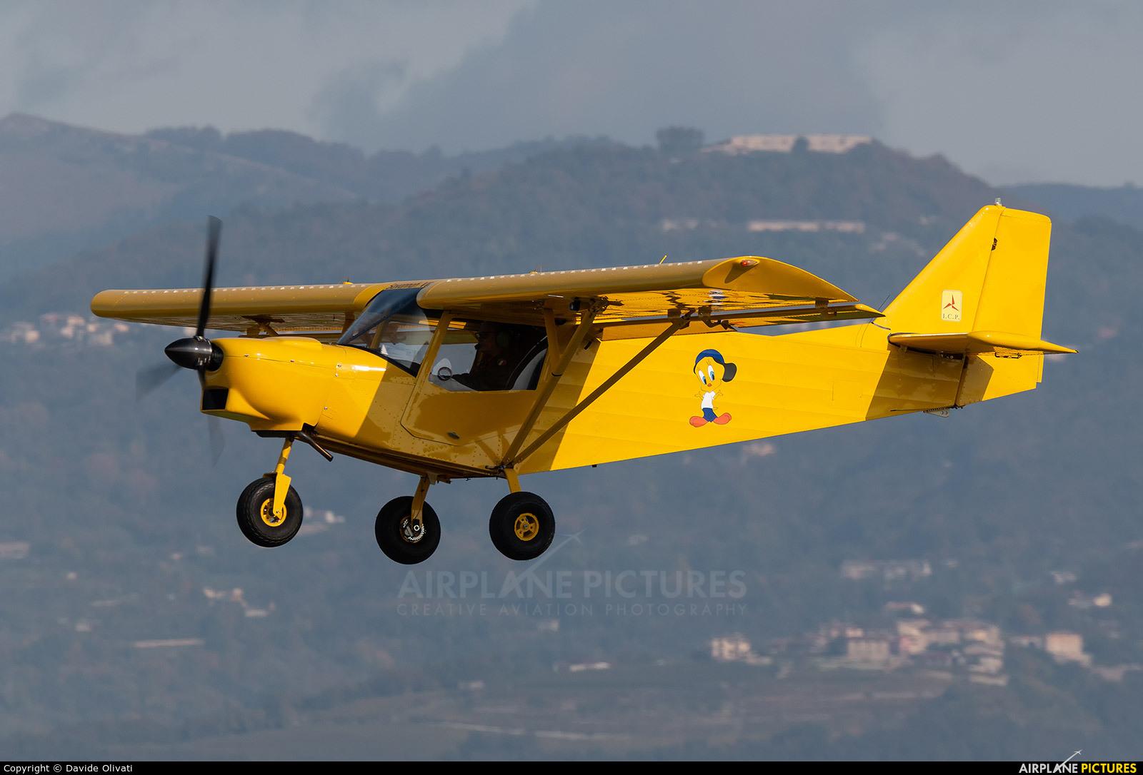 Private I-6922 aircraft at Verona - Boscomantico