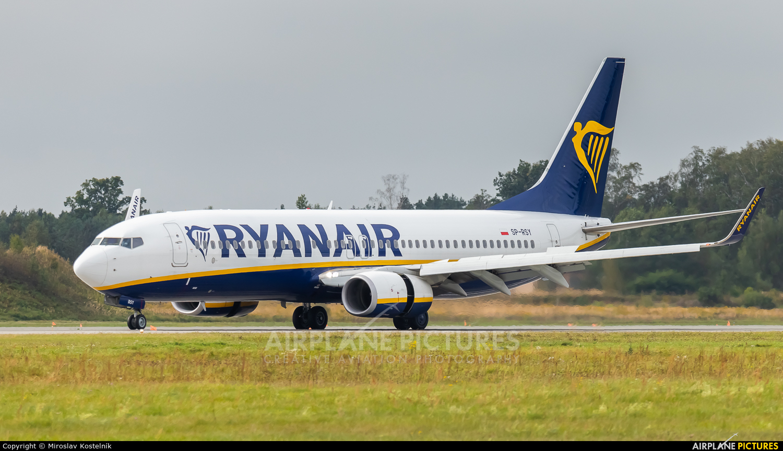 Ryan Air SP-RSY aircraft at Katowice - Pyrzowice