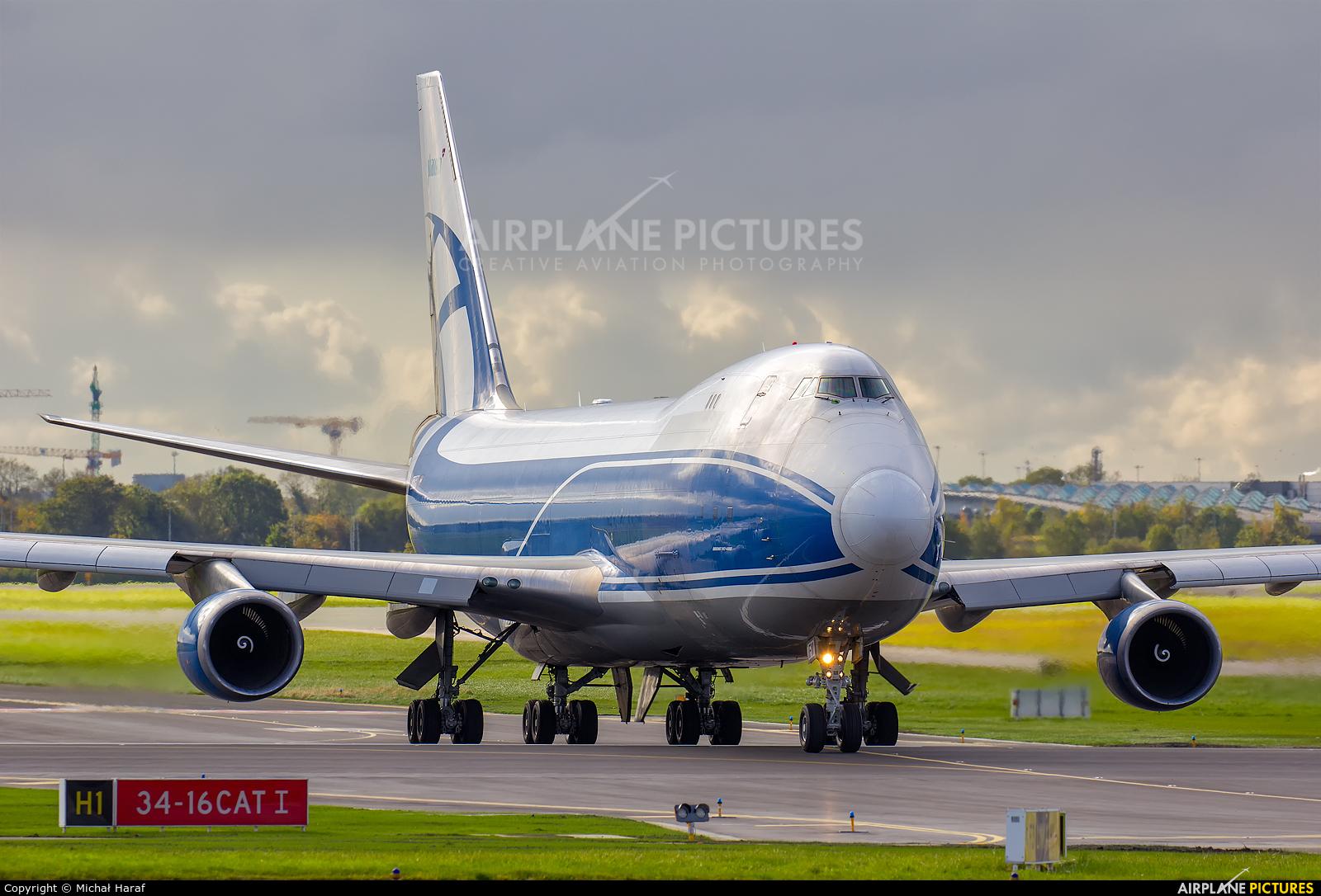Air Bridge Cargo OE-IFM aircraft at Dublin
