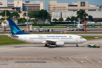PK-GGO - Garuda Indonesia Boeing 737-300