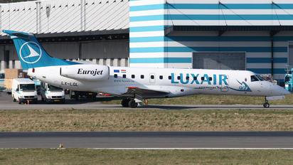 LX-LGL - Luxair Embraer ERJ-135