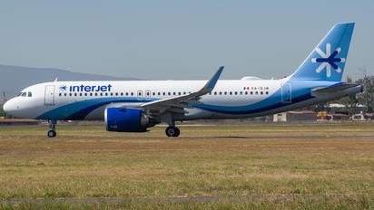 XA-DJM - Interjet Airbus A320 NEO