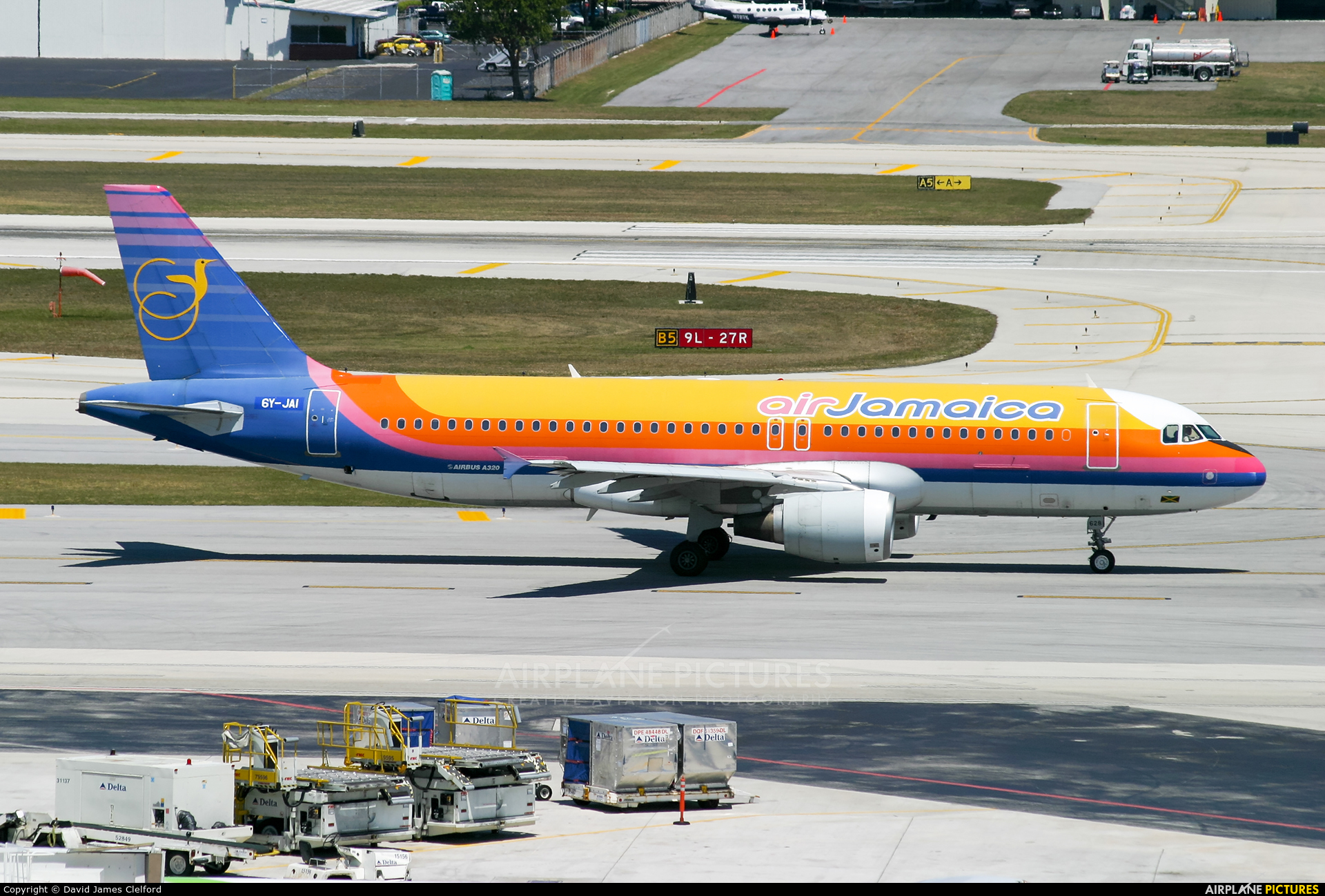 Air Jamaica 6Y-JAI aircraft at Fort Lauderdale - Hollywood Intl