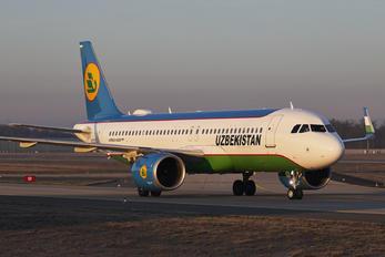 UK32022 - Uzbekistan Airways Airbus A320 NEO