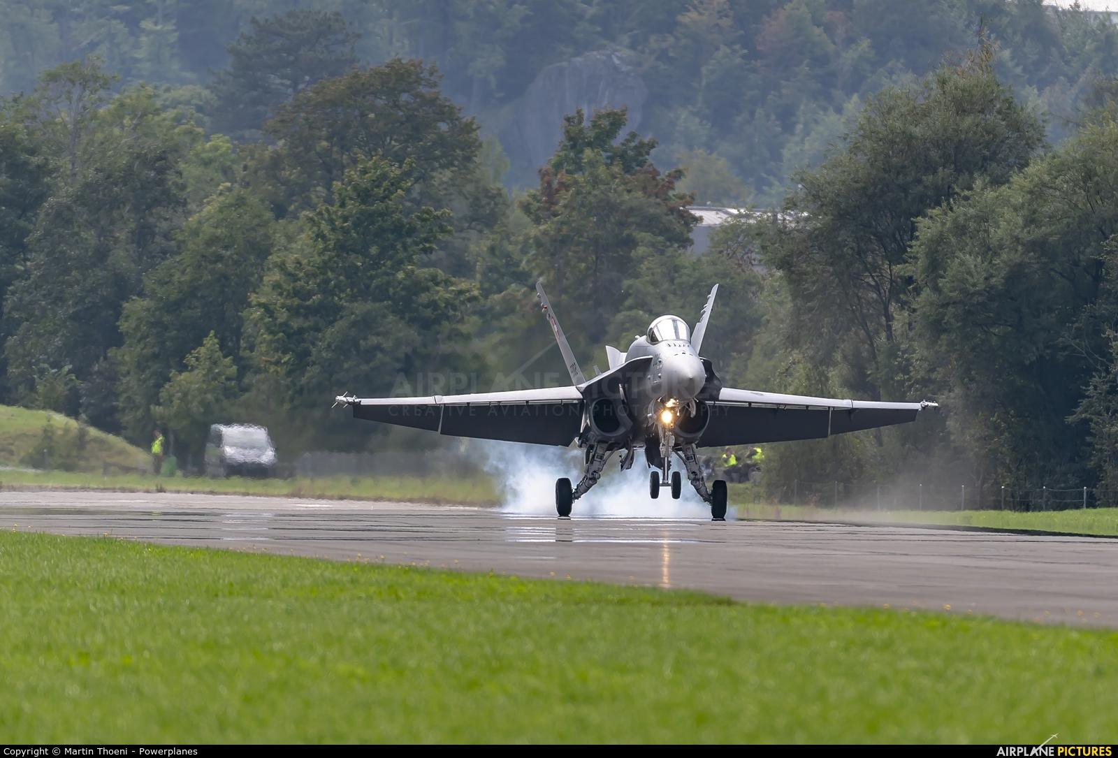 Switzerland - Air Force J-5002 aircraft at Mollis