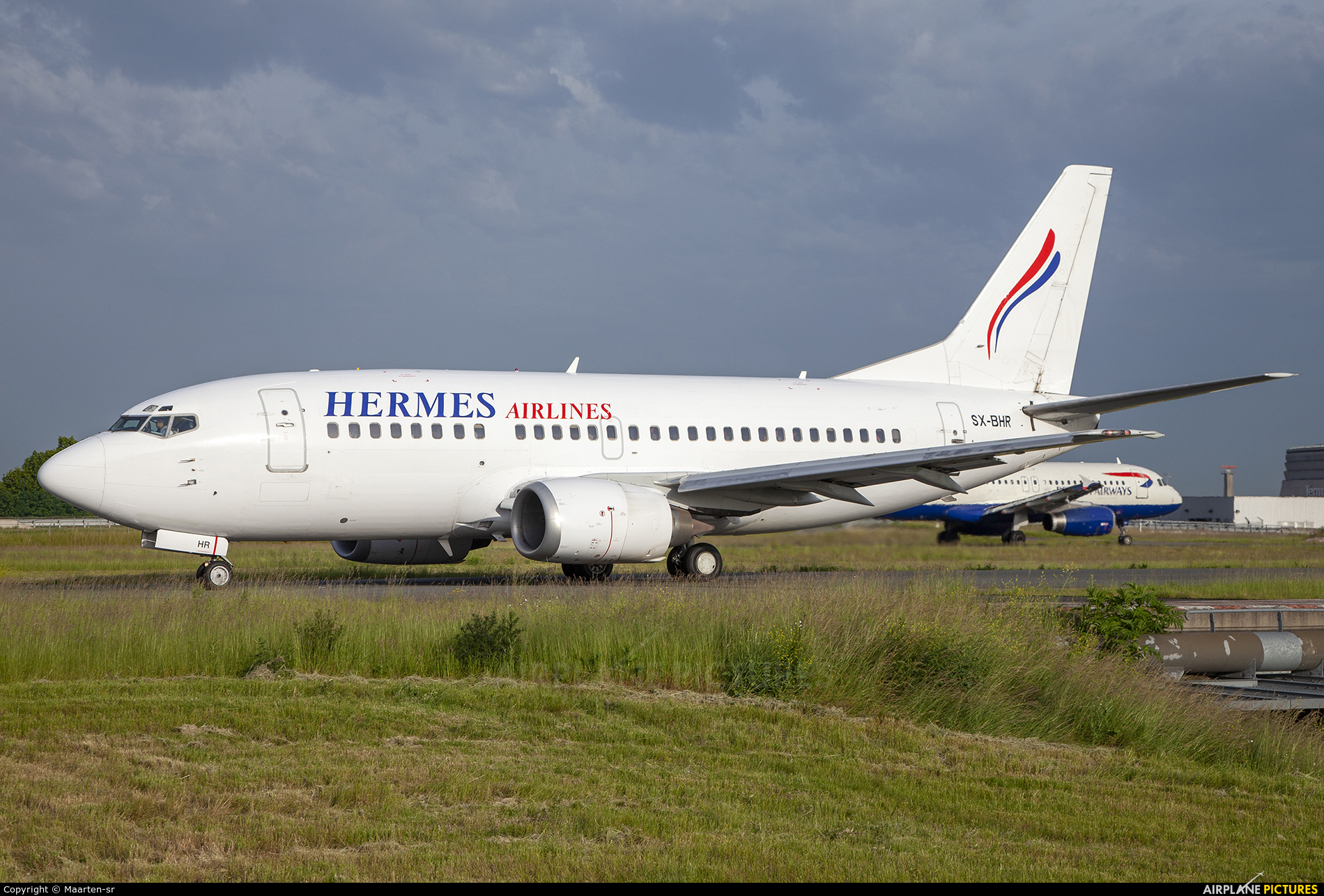 Hermes Airlines SX-BHR aircraft at Paris - Charles de Gaulle