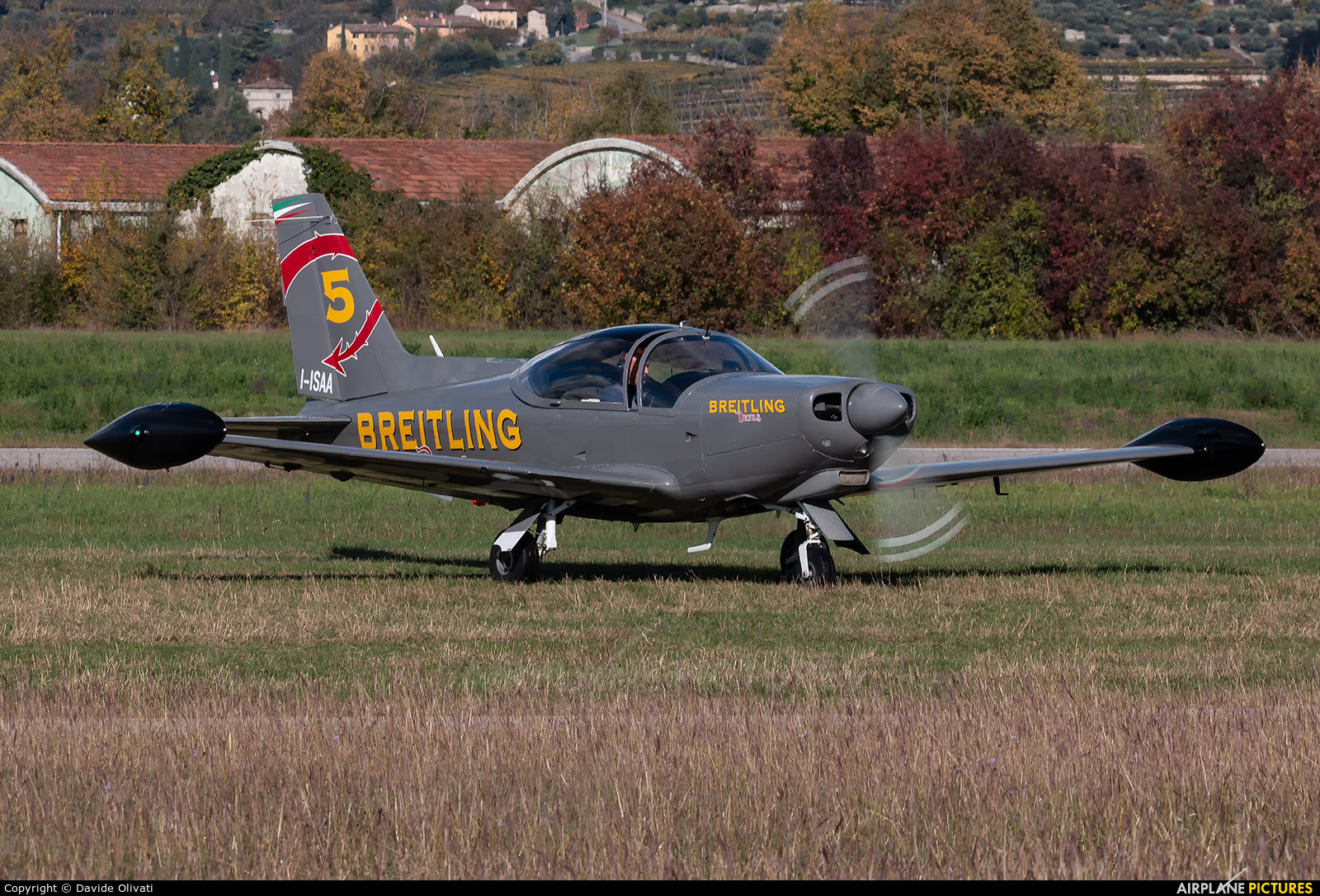 Breitling Devils I-ISAA aircraft at Verona - Boscomantico