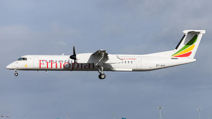 ET-AXY - Ethiopian Airlines de Havilland Canada DHC-8-400Q / Bombardier Q400