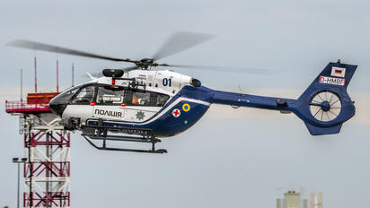 D-HMBF - Private Eurocopter EC145