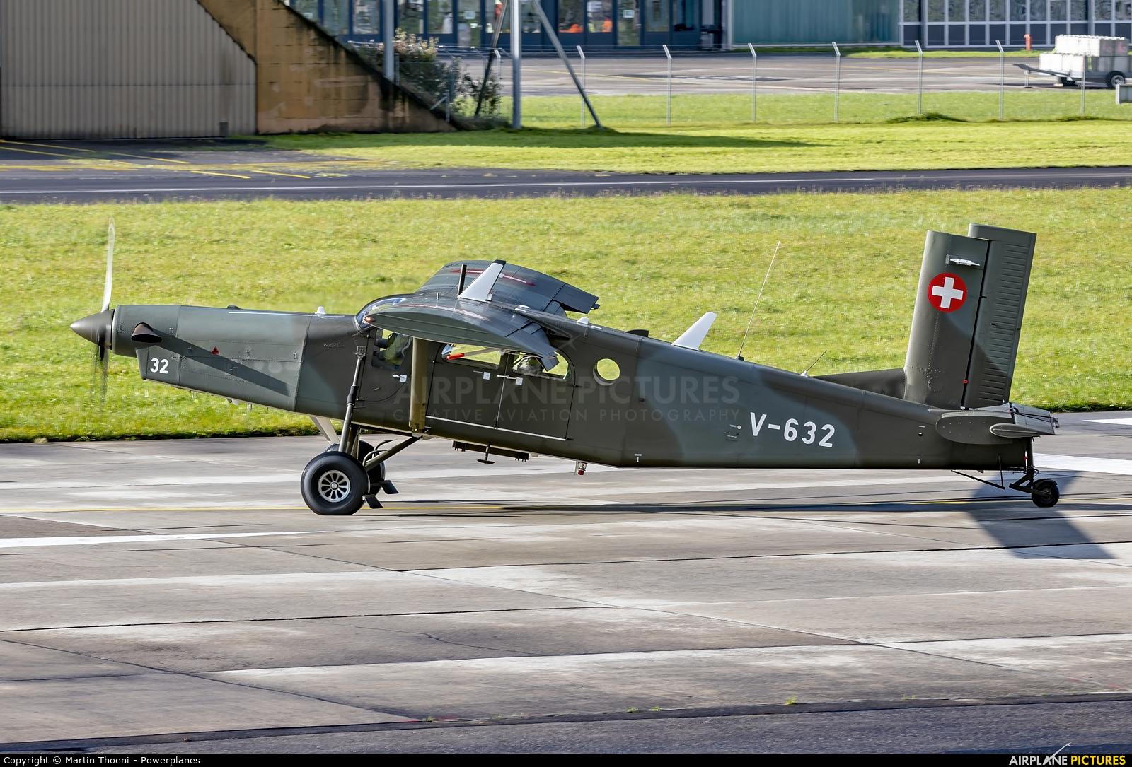 Switzerland - Air Force V-632 aircraft at Meiringen