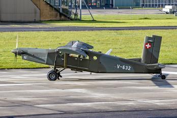 V-632 - Switzerland - Air Force Pilatus PC-6 Porter (all models)